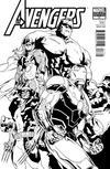 Cover for Avengers (Marvel, 2010 series) #17 [Architect Sketch Variant]