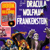 Cover for A Story of Dracula, the Wolfman, and Frankenstein [Book and Record Set] (Peter Pan, 1975 series) #BR-508