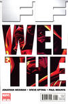 Cover for FF (Marvel, 2011 series) #2 [2nd Printing]