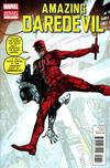 Cover for Daredevil (Marvel, 2011 series) #7 [Marvel Comics 50th Anniversary Variant Cover]