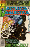 Cover for Battlestar Galactica (Marvel, 1979 series) #19 [Newsstand Edition]