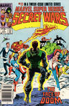 Cover Thumbnail for Marvel Super-Heroes Secret Wars (1984 series) #11 [Newsstand Edition]