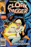 Cover Thumbnail for Cloak and Dagger (1983 series) #4 [Newsstand Edition]