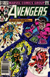 Cover Thumbnail for The Avengers (1963 series) #235 [Newsstand Edition]