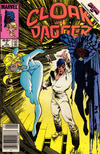 Cover for Cloak and Dagger (Marvel, 1985 series) #4 [Newsstand Edition]