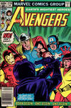 Cover Thumbnail for The Avengers (1963 series) #218 [Newsstand Edition]