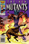 Cover Thumbnail for The New Mutants (1983 series) #44 [Newsstand Edition]