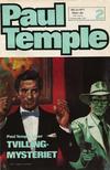 Cover for Paul Temple (Semic, 1970 series) #2/1971