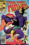 Cover Thumbnail for The New Mutants (1983 series) #14 [Newsstand Edition]