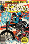 Cover for Team America (Marvel, 1982 series) #4 [Newsstand]