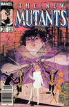 Cover Thumbnail for The New Mutants (1983 series) #31 [Newsstand Edition]