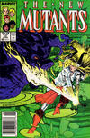 Cover for The New Mutants (Marvel, 1983 series) #52 [Newsstand]