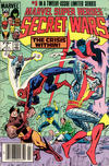 Cover for Marvel Super-Heroes Secret Wars (Marvel, 1984 series) #3 [Newsstand]