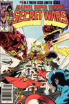 Cover Thumbnail for Marvel Super-Heroes Secret Wars (1984 series) #9 [Newsstand]