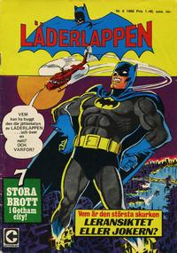 Cover Thumbnail for Läderlappen (Centerförlaget, 1956 series) #8/1968