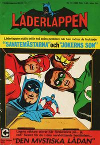 Cover Thumbnail for Läderlappen (Centerförlaget, 1956 series) #13/1968