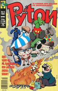 Cover Thumbnail for Pyton (Atlantic Förlags AB, 1990 series) #9/1991