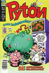 Cover Thumbnail for Pyton (Atlantic Förlags AB, 1990 series) #8/1992
