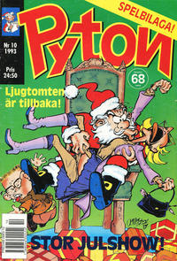 Cover Thumbnail for Pyton (Atlantic Förlags AB, 1990 series) #10/1993