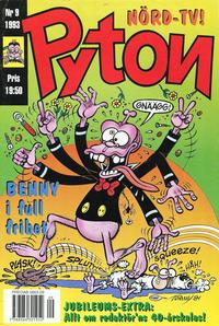 Cover Thumbnail for Pyton (Atlantic Förlags AB, 1990 series) #9/1993