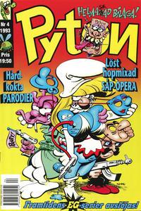 Cover Thumbnail for Pyton (Atlantic Förlags AB, 1990 series) #4/1993