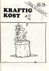 Cover Thumbnail for Kraftig kost (Norsk Tegneserieforum, 1985 series) #11