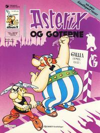 Cover Thumbnail for Asterix (Hjemmet / Egmont, 1969 series) #9 - Asterix og goterne [5. opplag]