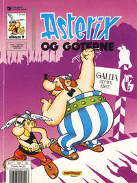 Cover Thumbnail for Asterix (Hjemmet / Egmont, 1969 series) #9 - Asterix og goterne [6. opplag]