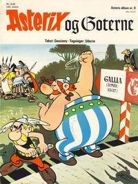 Cover Thumbnail for Asterix (Hjemmet / Egmont, 1969 series) #9 - Asterix og goterne [1. opplag]
