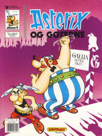Cover Thumbnail for Asterix (Hjemmet / Egmont, 1969 series) #9 - Asterix og goterne [8. opplag]