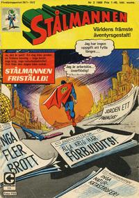 Cover Thumbnail for Stålmannen (Centerförlaget, 1949 series) #3/1969