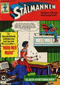Cover Thumbnail for Stålmannen (Centerförlaget, 1949 series) #25/1968