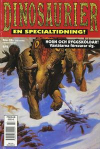 Cover Thumbnail for Dinosaurier: En faktatidning [En specialtidning] (SatellitFörlaget, 1993 series) #2