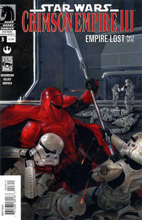 Cover Thumbnail for Star Wars: Crimson Empire III - Empire Lost (Dark Horse, 2011 series) #3