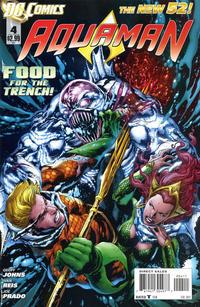 Cover Thumbnail for Aquaman (DC, 2011 series) #4