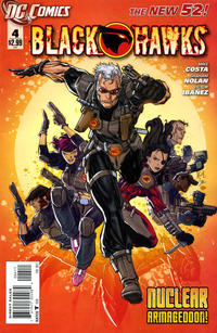 Cover Thumbnail for Blackhawks (DC, 2011 series) #4