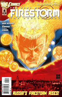 Cover Thumbnail for Fury of the Firestorms: The Nuclear Men (DC, 2011 series) #4