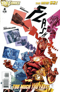 Cover Thumbnail for The Flash (DC, 2011 series) #4 [Direct Sales]