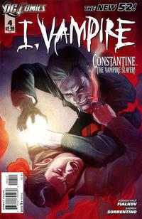 Cover Thumbnail for I, Vampire (DC, 2011 series) #4
