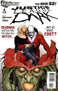 Cover for Justice League Dark (DC, 2011 series) #4