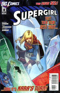 Cover Thumbnail for Supergirl (DC, 2011 series) #4