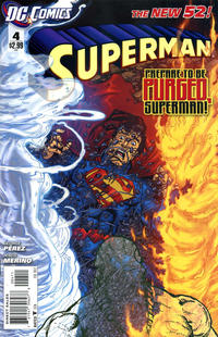 Cover Thumbnail for Superman (DC, 2011 series) #4