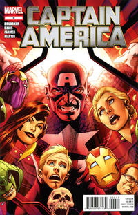 Cover Thumbnail for Captain America (Marvel, 2011 series) #6