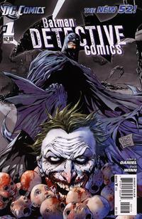 Cover Thumbnail for Detective Comics (DC, 2011 series) #1 [Third Printing]