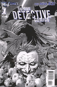 Cover Thumbnail for Detective Comics (DC, 2011 series) #1 [4th Printing - Grayscale]