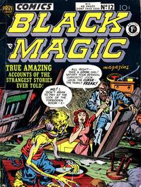 Cover Thumbnail for Black Magic Comics (Arnold Book Company, 1952 series) #12