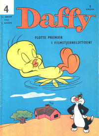 Cover Thumbnail for Daffy (Allers Forlag, 1959 series) #4/1962