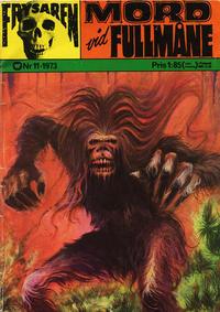 Cover Thumbnail for Frysaren (Williams Förlags AB, 1972 series) #11/1973