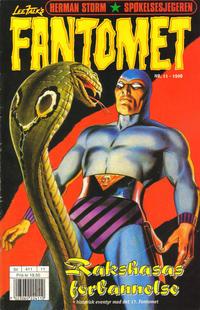 Cover Thumbnail for Fantomet (Hjemmet / Egmont, 1998 series) #11/1998