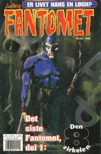 Cover Thumbnail for Fantomet (Hjemmet / Egmont, 1998 series) #24/1998